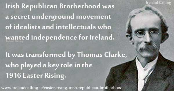 Thomas Clarke Irish Republican Brotherhood. Image copyright Ireland Calling