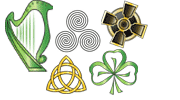 Celtic symbols copyright Ireland Calling