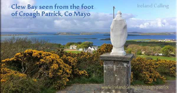 Clew Bay Croagh Patrick – the Mountain of St Patrick Image copyright Ireland Calling
