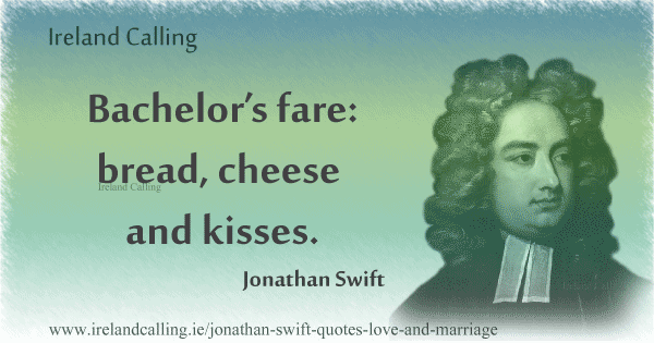 Jonathan Swift quote. Image copyright Ireland Calling