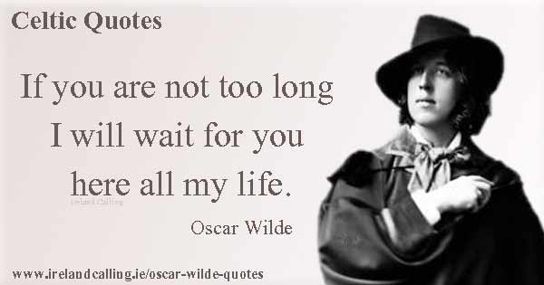 Oscar Wilde Quotes On Love Ireland Calling