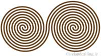 Double Spiral. Image Copyright - Ireland Calling