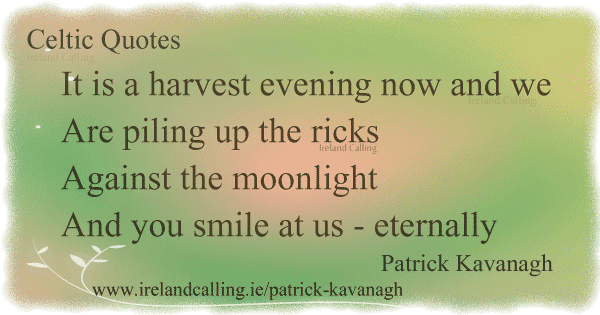 In Memory of my Mother Patrick Kavanagh Image copyright Ireland Calling