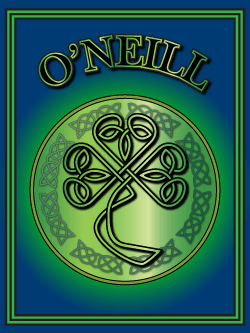 History of the Irish name O'Neill. Image copyright Ireland Calling
