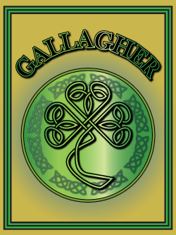 History of the Irish name Gallagher. Image copyright Ireland Calling