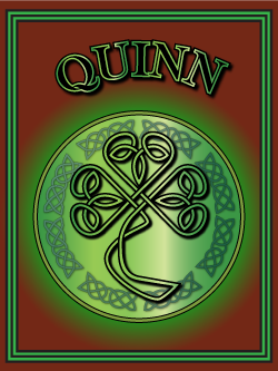 History of the Irish name Quinn. Image copyright Ireland Calling