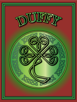 History of the Irish name Duffy. Image copyright Ireland Calling