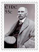 A stamp of Douglas Hyde was released in Ireland in 1943.