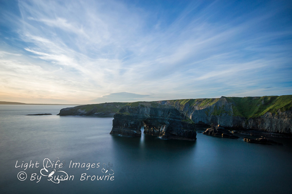Ballybunion virgin rock by Susan Browne