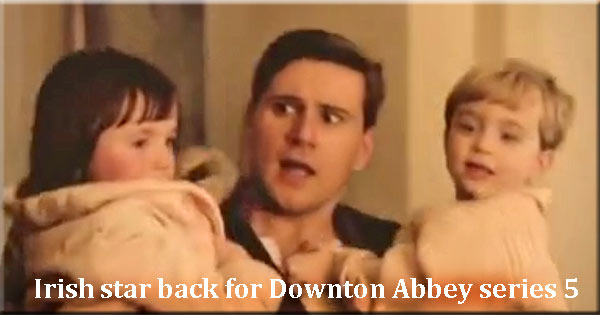 Irish stars back for new series of Downton Abbey