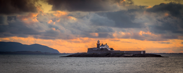 Safe Passage, Fenit Lighthouse, Co Kerry by Keith McGlynn