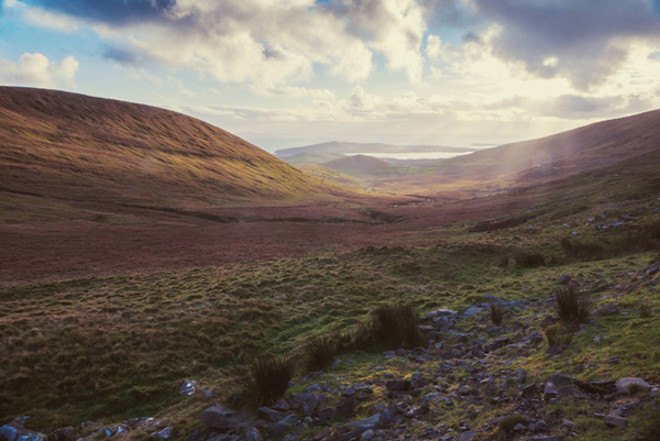 Conor Pass, Dingle Bayside by Paul Woods