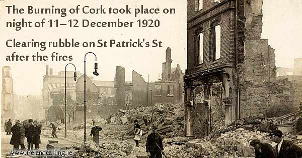 Aftermath of the Burning of Cork